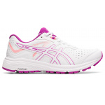 ASICS GT-1000 Leather D WIDE Womens Cross Training Shoe - White/Digital Grape ASICS GT-1000 Leather D WIDE Womens Cross Training Shoe - White/Digital Grape