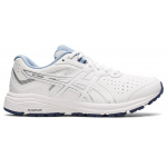 ASICS GT-1000 Leather D WIDE Womens Cross Training Shoe - WHITE/WHITE ASICS GT-1000 Leather D WIDE Womens Cross Training Shoe - WHITE/WHITE