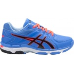 Asics GEL-540TR GS Leather Girls Cross Training Shoe - Regatta Blue/Black/Flash Coral Asics GEL-540TR GS Leather Girls Cross Training Shoe - Regatta Blue/Black/Flash Coral