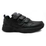 SFIDA Defy Leather VELCRO Junior Cross Training Shoe - BLACK SFIDA Defy Leather VELCRO Junior Cross Training Shoe - BLACK