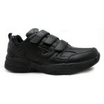 SFIDA Defy Leather VELCRO Junior Cross Training Shoe - BLACK SFIDA Defy Leather VELCRO Junior Cross Training Shoe - BLACK