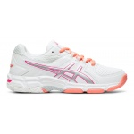 ASICS GEL-540TR GS Girls Cross Training Shoe - WHITE/PINK GLO ASICS GEL-540TR GS Girls Cross Training Shoe - WHITE/PINK GLO