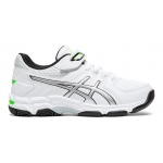 ASICS GEL-540TR PS VELCRO Boys Cross Training Shoe - WHITE/SILVER ASICS GEL-540TR PS VELCRO Boys Cross Training Shoe - WHITE/SILVER