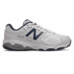 New Balance YE680v3 Junior Cross Training Shoe - WHITE/NAVY New Balance YE680v3 Junior Cross Training Shoe - WHITE/NAVY
