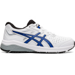 ASICS GT-1000 Synthetic Leather Boys Cross Training Shoe - WHITE/ASICS BLUE ASICS GT-1000 Synthetic Leather Boys Cross Training Shoe - WHITE/ASICS BLUE