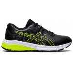 ASICS GT-1000 Synthetic Leather Boys Cross Training Shoe - Black/Safety Yellow ASICS GT-1000 Synthetic Leather Boys Cross Training Shoe - Black/Safety Yellow