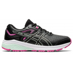 ASICS GT-1000 Synthetic Leather Girls Cross Training Shoe - Black/Bio Mint ASICS GT-1000 Synthetic Leather Girls Cross Training Shoe - Black/Bio Mint