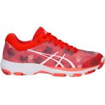 Asics Netburner Professional FF Women's Netball Shoe - Fiery Red/White Asics Netburner Professional FF Women's Netball Shoe - Fiery Red/White