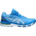 ASICS GEL-Netburner 19 D WIDE Women's Netball Shoe - Blue Coast/White ASICS GEL-Netburner 19 D WIDE Women's Netball Shoe - Blue Coast/White