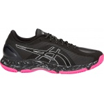 ASICS GEL-Netburner Super FF D WIDE Women's Netball Shoe - BLACK/BLACK ASICS GEL-Netburner Super FF D WIDE Women's Netball Shoe - BLACK/BLACK