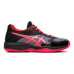 ASICS Netburner Ballistic FF Women's Netball Shoe - BLACK/LASER PINK