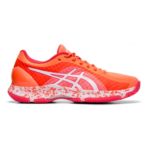 ASICS GEL-Netburner Super FF Women's Netball Shoe - Flash Coral/White