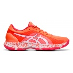 ASICS GEL-Netburner Super FF Women's Netball Shoe - Flash Coral/White ASICS GEL-Netburner Super FF Women's Netball Shoe - Flash Coral/White