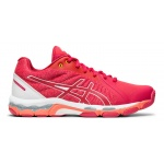 ASICS GEL-Netburner 19 D WIDE Women's Netball Shoe - Rose Petal/White ASICS GEL-Netburner 19 D WIDE Women's Netball Shoe - Rose Petal/White