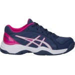 ASICS GEL-Netburner 19 GS Kids Netball Shoe - Indigo Blue/Silver - JAN 19 ASICS GEL-Netburner 19 GS Kids Netball Shoe - Indigo Blue/Silver - JAN 19