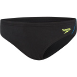 SPEEDO BOYS ENDURANCE+ LOGO BRIEF - BLACK/AMALFI/SAFETY YELLOW SPEEDO BOYS ENDURANCE+ LOGO BRIEF - BLACK/AMALFI/SAFETY YELLOW