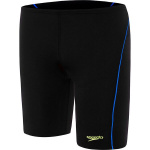 SPEEDO BOYS ENDURA+ LOGO JAMMER - Black/Amalfi/Safety Yellow SPEEDO BOYS ENDURA+ LOGO JAMMER - Black/Amalfi/Safety Yellow