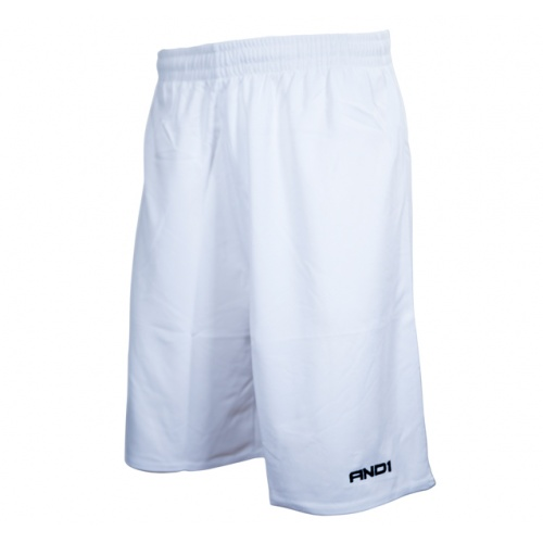 And1 No Sweat Basketball Shorts - WHITE