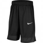 Nike Kids Core Basketball Short - BLACK/BLACK/WHITE Nike Kids Core Basketball Short - BLACK/BLACK/WHITE