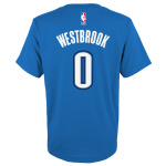 Oklahoma City Thunder NBA Westbrook Kids Tee Oklahoma City Thunder NBA Westbrook Kids Tee