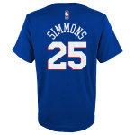 Philadelphia 76'ers NBA Ben Simmons Kids Tee Philadelphia 76'ers NBA Ben Simmons Kids Tee