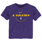 Nike Los Angeles Lakers NBA Small Kids Essential Practice Dry Tee - PURPLE Nike Los Angeles Lakers NBA Small Kids Essential Practice Dry Tee - PURPLE