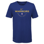 Nike Golden State Warriors NBA Small Kids Essential Practice Dry Tee - ROYAL Nike Golden State Warriors NBA Small Kids Essential Practice Dry Tee - ROYAL