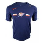 Nike Oklahoma City Thunder NBA Kids Essential Logo Dry Tee - NAVY