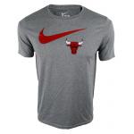 Nike Chicago Bulls NBA Kids Essential Swoosh Dry Tee - RED Nike Chicago Bulls NBA Kids Essential Swoosh Dry Tee - RED