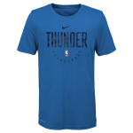 Nike Oklahoma City Thunder NBA Kids Essential Practice Dry Tee - BLUE Nike Oklahoma City Thunder NBA Kids Essential Practice Dry Tee - BLUE