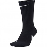 Nike Elite Basketball Crew Socks - BLACK/WHITE/WHITE Nike Elite Basketball Crew Socks - BLACK/WHITE/WHITE