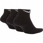 Image 2: Nike Everyday Cushion Low Training Socks (3 Pair) - Black