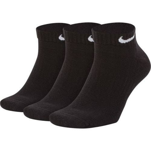 Nike Everyday Cushion Low Training Socks (3 Pair) - Black