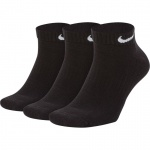 Image 1: Nike Everyday Cushion Low Training Socks (3 Pair) - Black