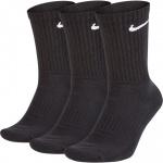 Nike Everyday Cushioned Crew Training Sock - 3pk - BLACK/WHITE Nike Everyday Cushioned Crew Training Sock - 3pk - BLACK/WHITE