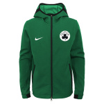 Nike Boston Celtics NBA Kids Showtime Hoodie - GREEN Nike Boston Celtics NBA Kids Showtime Hoodie - GREEN
