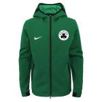 Nike Boston Celtics NBA Kids Showtime Hoodie - GREEN Nike Boston Celtics NBA Kids Showtime Hoodie - GREEN