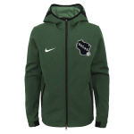 Nike Milwaukee Bucks NBA Kids Showtime Hoodie - GREEN Nike Milwaukee Bucks NBA Kids Showtime Hoodie - GREEN