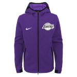 Nike Los Angeles Lakers NBA Kids Showtime Hoodie - PURPLE Nike Los Angeles Lakers NBA Kids Showtime Hoodie - PURPLE