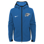Nike Oklahoma City Thunder NBA Kids Showtime Hoodie - ROYAL