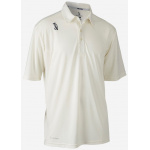 Kookaburra PRO Active Short Sleeve Cricket Shirt - CREAM Kookaburra PRO Active Short Sleeve Cricket Shirt - CREAM