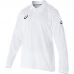 Asics Playing Longsleeve Cricket Shirt - White Asics Playing Longsleeve Cricket Shirt - White