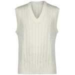 Gray Nicolls Sleeveless Sweater - Off White Gray Nicolls Sleeveless Sweater - Off White