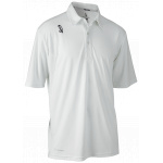 Kookaburra Pro Active Junior SS Cricket Shirt - WHITE Kookaburra Pro Active Junior SS Cricket Shirt - WHITE