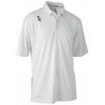 Kookaburra Pro Active Junior SS Cricket Shirt - WHITE Kookaburra Pro Active Junior SS Cricket Shirt - WHITE