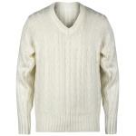 Gray Nicolls Long Sleeve Junior Sweater - Off White Gray Nicolls Long Sleeve Junior Sweater - Off White