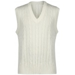 Gray Nicolls Sleeveless Junior Sweater - Off White Gray Nicolls Sleeveless Junior Sweater - Off White