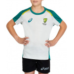 ASICS Cricket Australia Kids Replica Tee ASICS Cricket Australia Kids Replica Tee