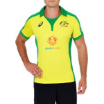 Asics Cricket Australia Replica ODI Home Shirt Asics Cricket Australia Replica ODI Home Shirt