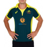 Asics Cricket Australia Replica ODI Alternative Shirt Asics Cricket Australia Replica ODI Alternative Shirt